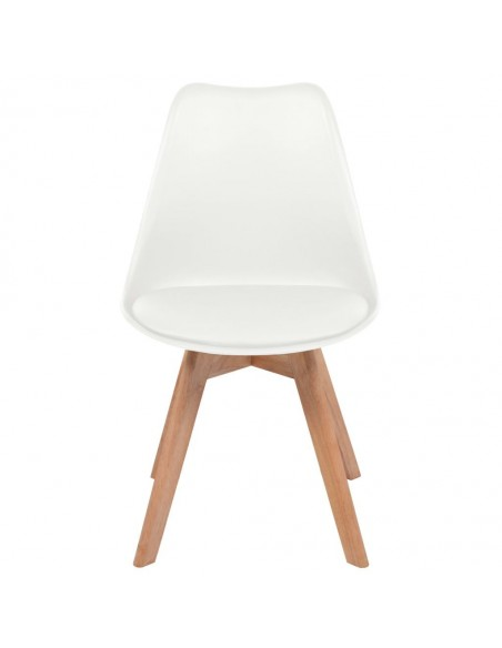 CHAISE SCANDINAVE UMEA CUIR SYNTHETIQUE CHAISES