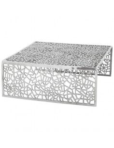 TABLE BASSE EN ALUMINIUM TABLES BASSES