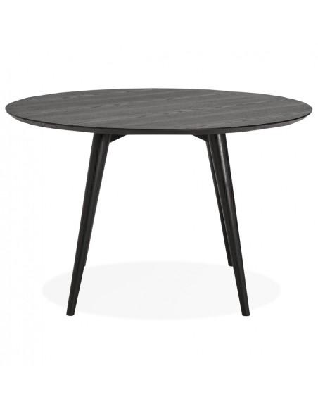 TABLE A MANGER RONDE VINTAGE EN BOIS D.120CM TABLES A MANGER