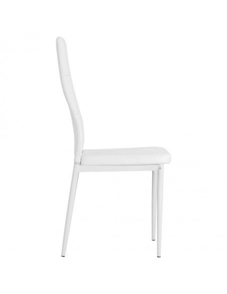 CHAISE MODERNE WILLIAM CUIR SYNTHETIQUE CHAISES