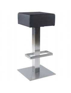 TABOURET DE BAR MODERNE EVAN CUIR SYNTHETIQUE TABOURETS DE BAR