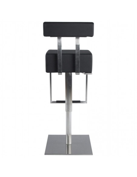 TABOURET DE BAR MODERNE CONRAD CUIR SYNTHETIQUE TABOURETS DE BAR