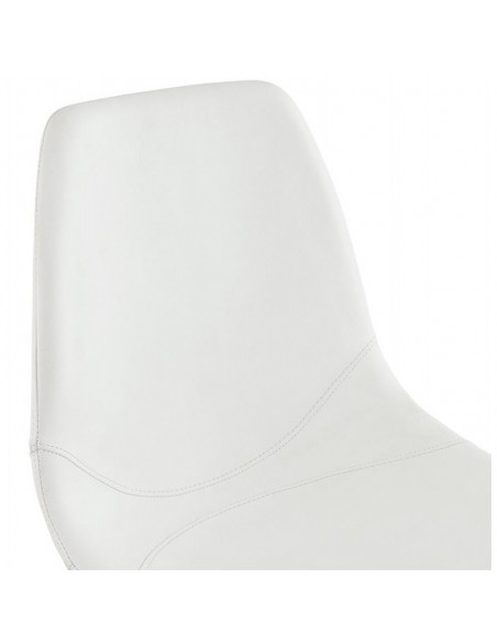 CHAISE MODERNE LESLIE CUIR SYNTHETIQUE CHAISES