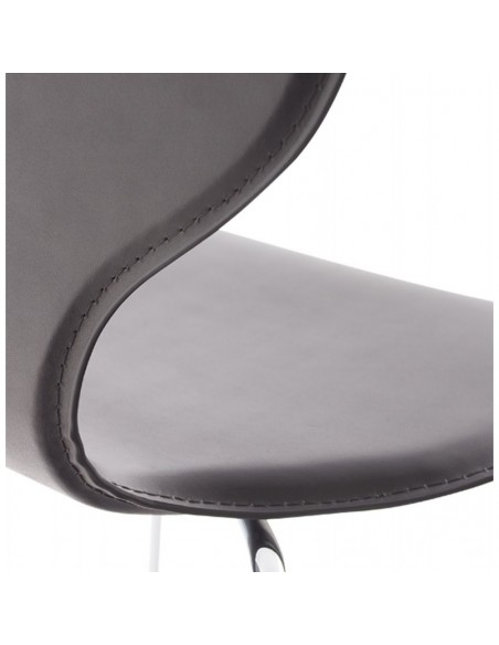 CHAISE CONTEMPORAINE DAMIA CUIR SYNTHETIQUE CHAISES