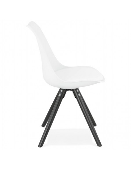CHAISE SCANDINAVE AGLAE CUIR SYNTHETIQUE CHAISES